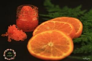 Lip Scrub 25 Grams Orange
