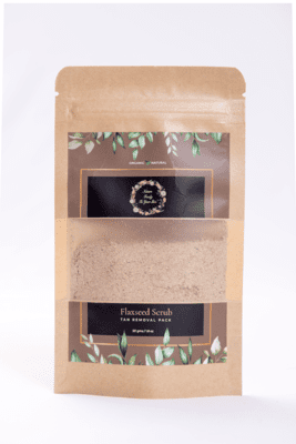 Flaxseed Face Scrub 50g