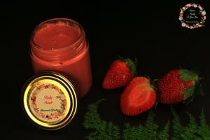 Strawberry Buttered Body Scrub 200 grams
